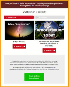 afrofuturism today quiz
